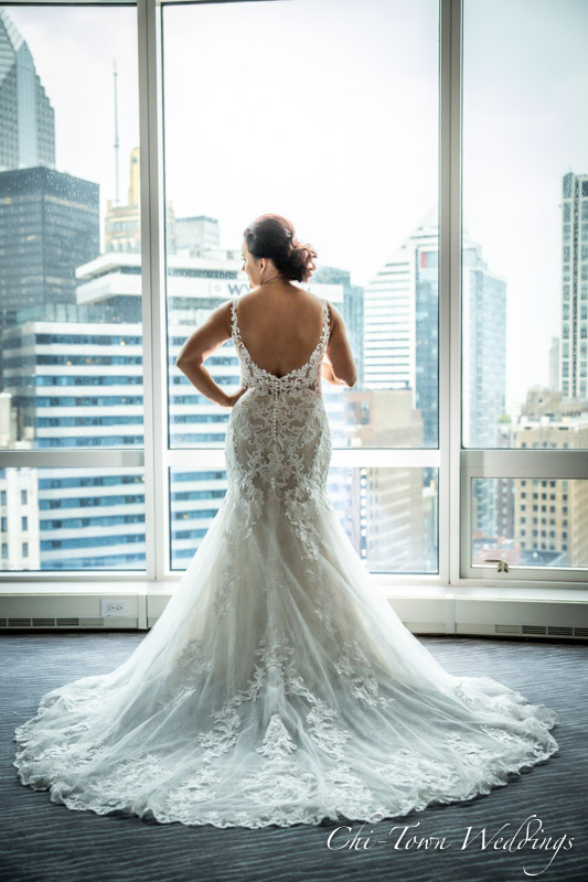 www.Chi-Town-Weddings.com Bride Trump Tower