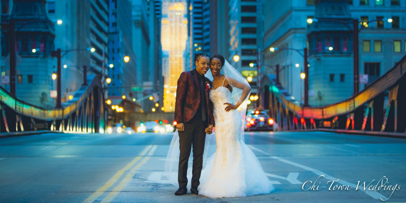 www.Chi-Town-Weddings.com  Brides Lasalle St Chicago