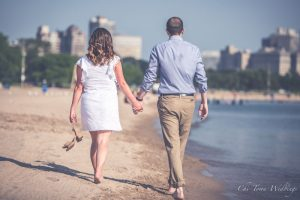 Chi-Town Weddings Engagement Session North Ave Beach, 2018